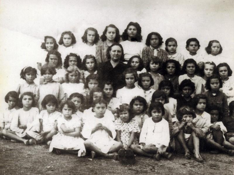 Escuela de Margarita Martín Martín en San Bartolomé