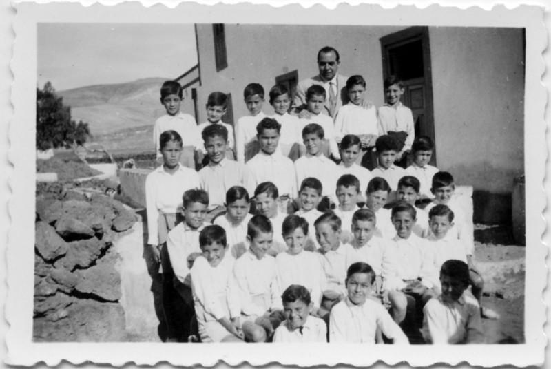 Niños de la escuela de Guatiza II