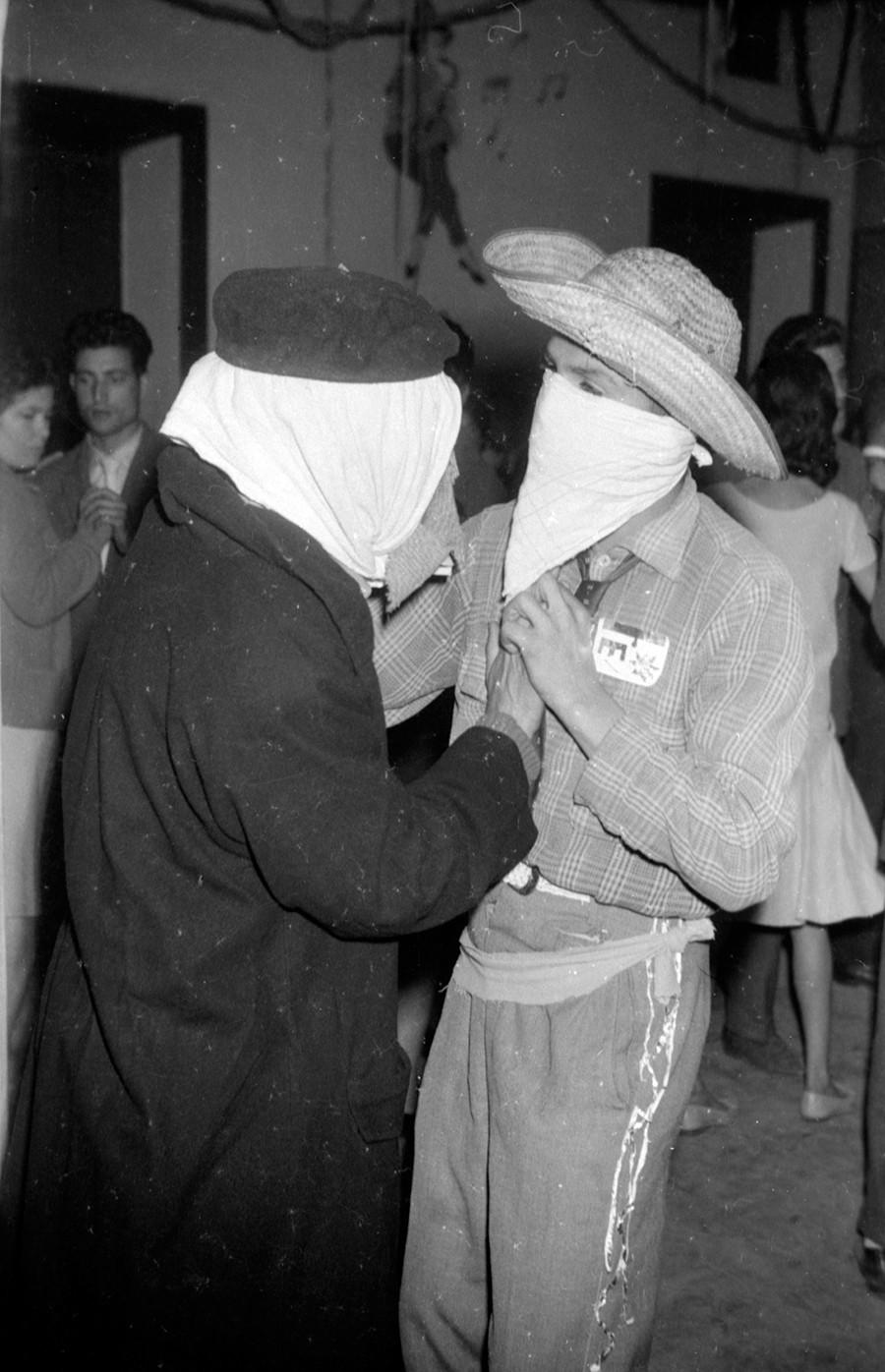 Carnaval en Haría de 1963 I