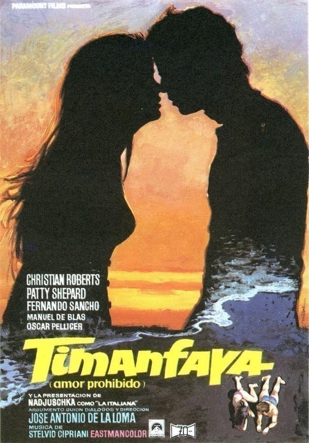 Folleto de mano de la película Timanfaya