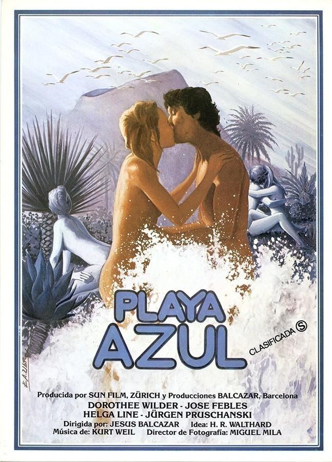 Guía publicitaria de la película Playa Azul I