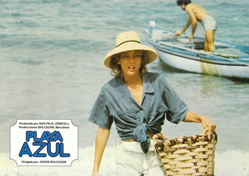 Fotocromo de la película Playa Azul I