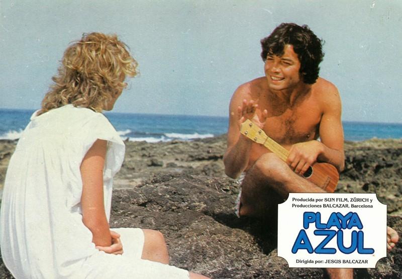 Fotocromo de la película Playa Azul III