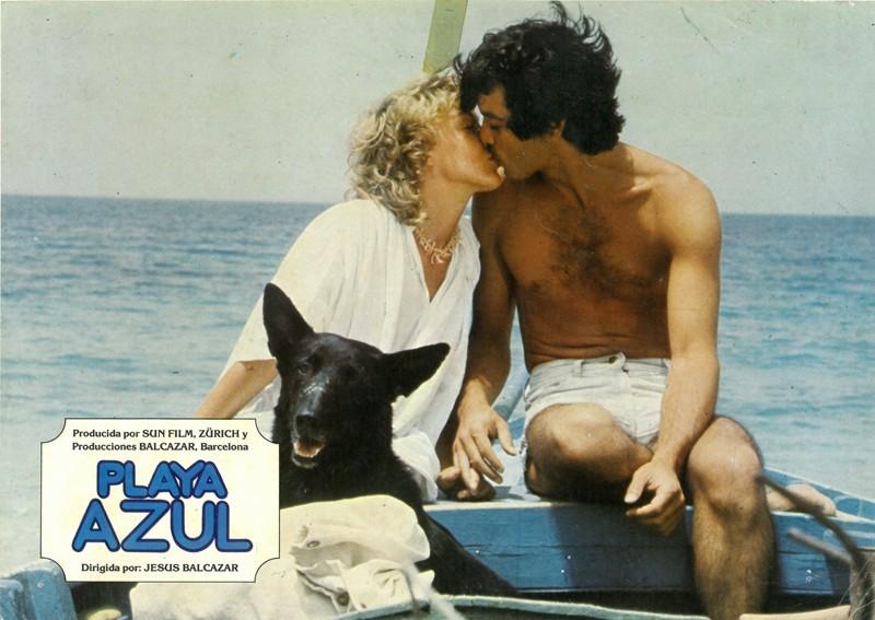 Fotocromo de la película Playa Azul IV