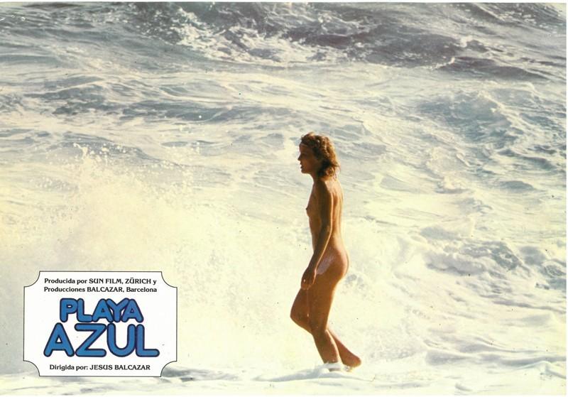 Fotocromo de la película Playa Azul VII