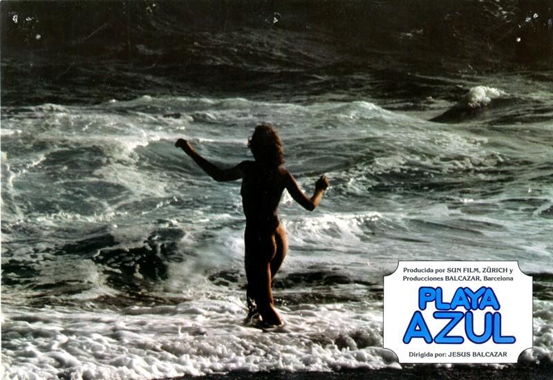 Fotocromo de la película Playa Azul VIII