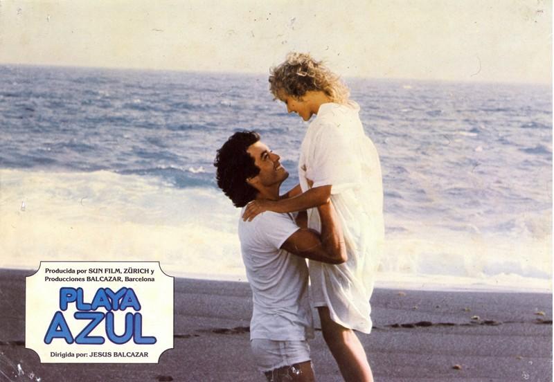 Fotocromo de la película Playa Azul IX