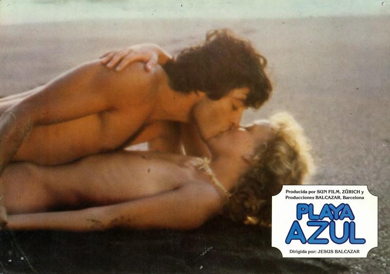 Fotocromo de la película Playa Azul X