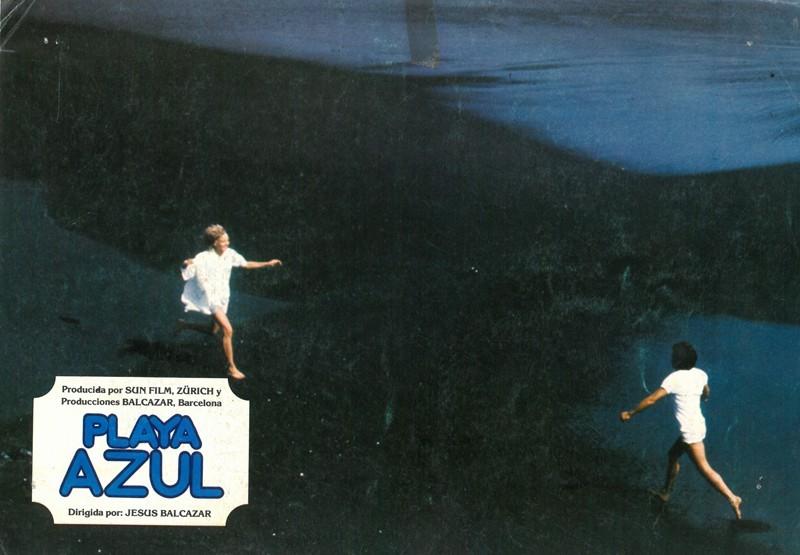 Fotocromo de la película Playa Azul XI