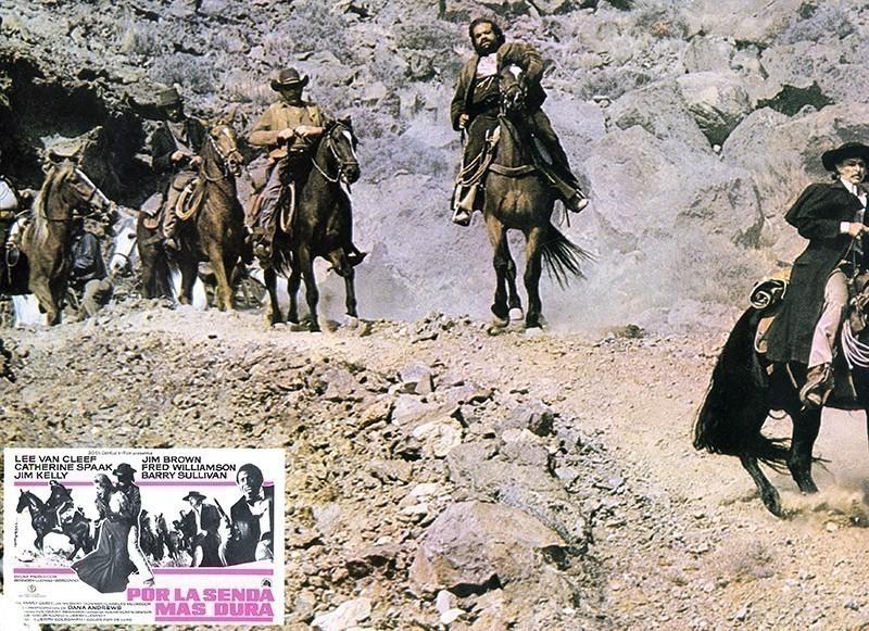 Fotocromo de la película Por la senda más dura XII