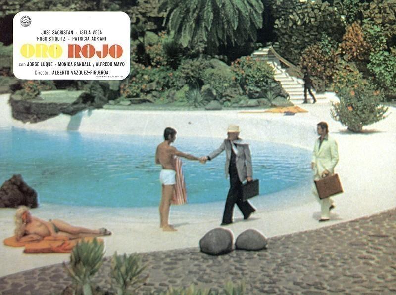 Fotocromo de la película Oro Rojo III