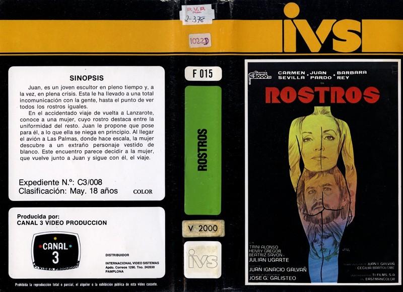 Carátula de la película Rostros