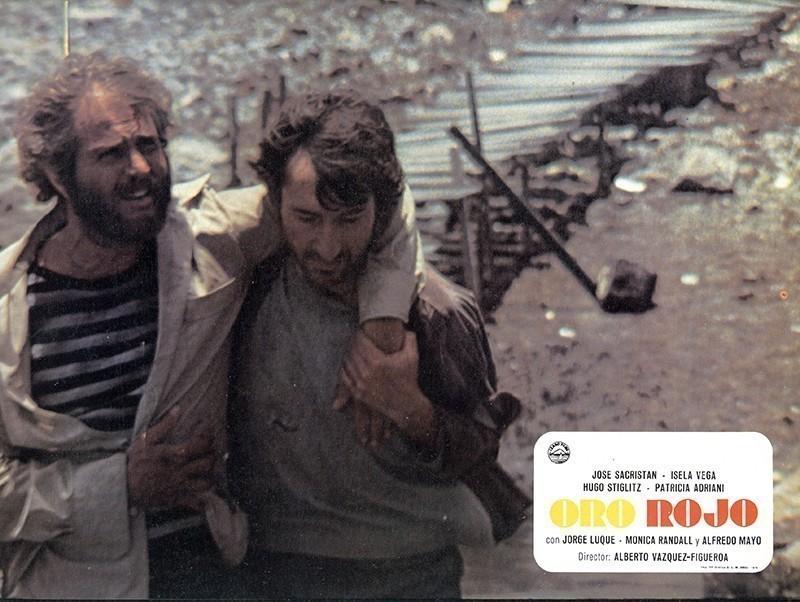 Fotocromo de la película Oro Rojo V