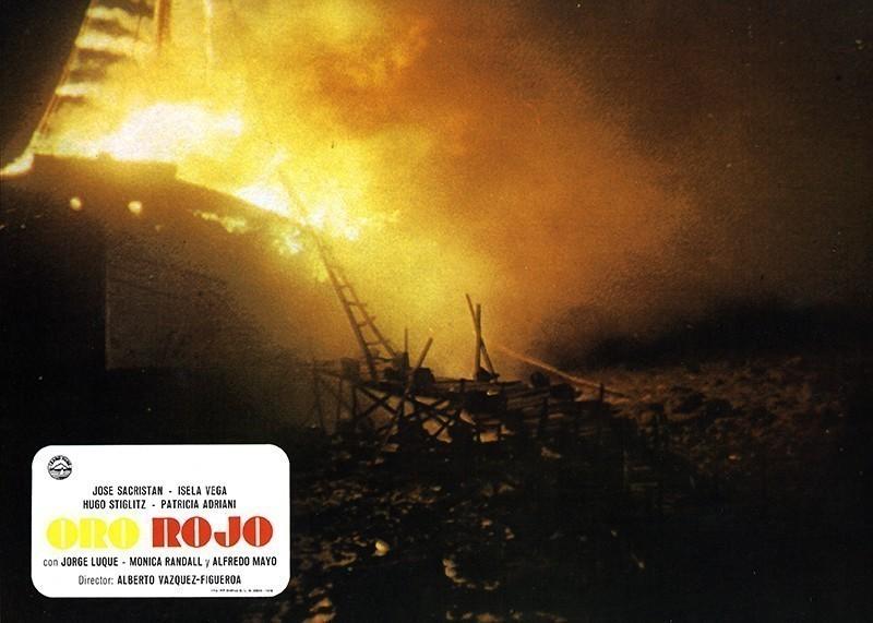 Fotocromo de la película Oro Rojo VI