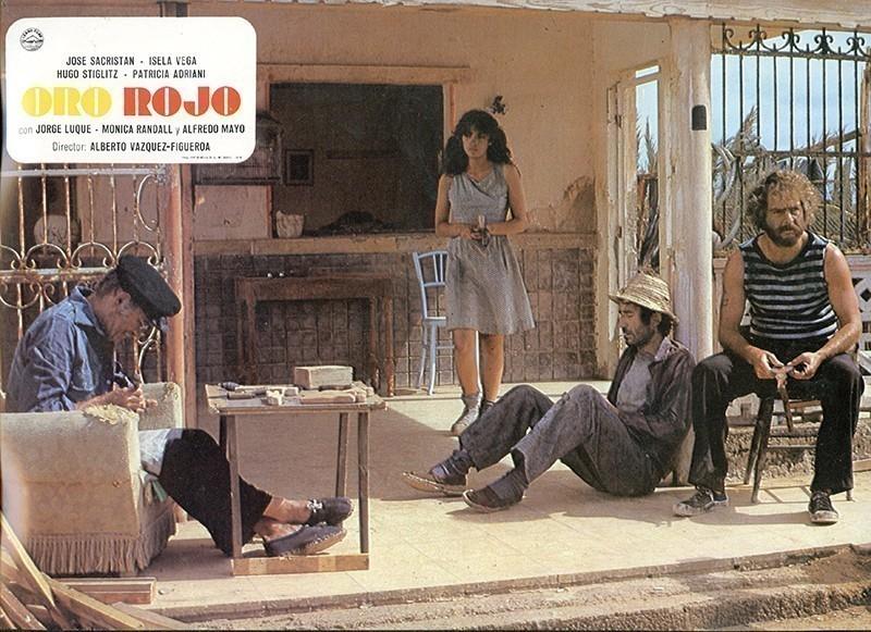 Fotocromo de la película Oro Rojo VIII