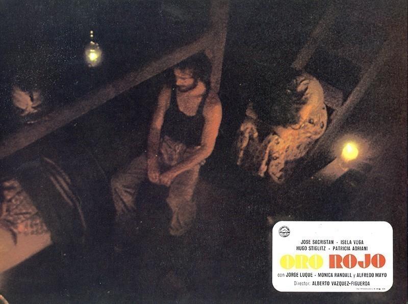 Fotocromo de la película Oro Rojo IX