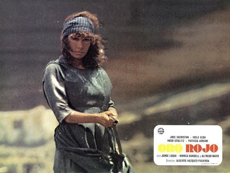 Fotocromo de la película Oro Rojo XII