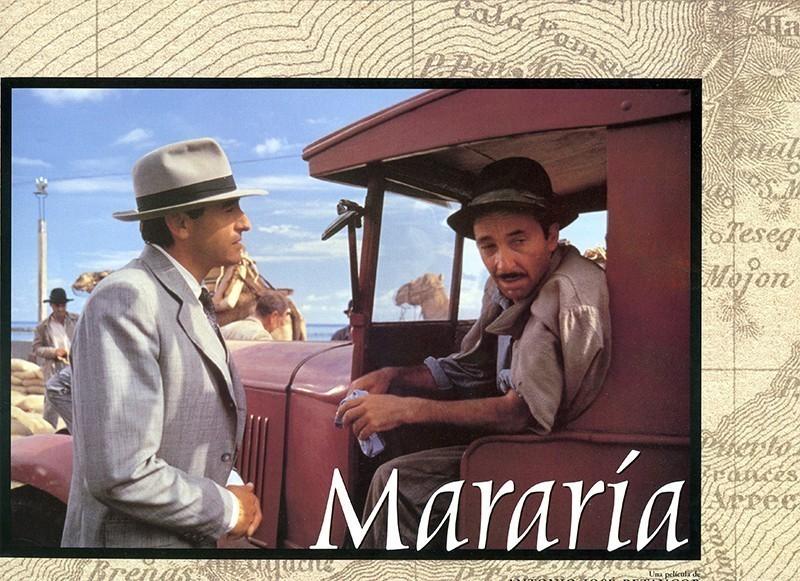 Fotocromo de la película Mararía VI