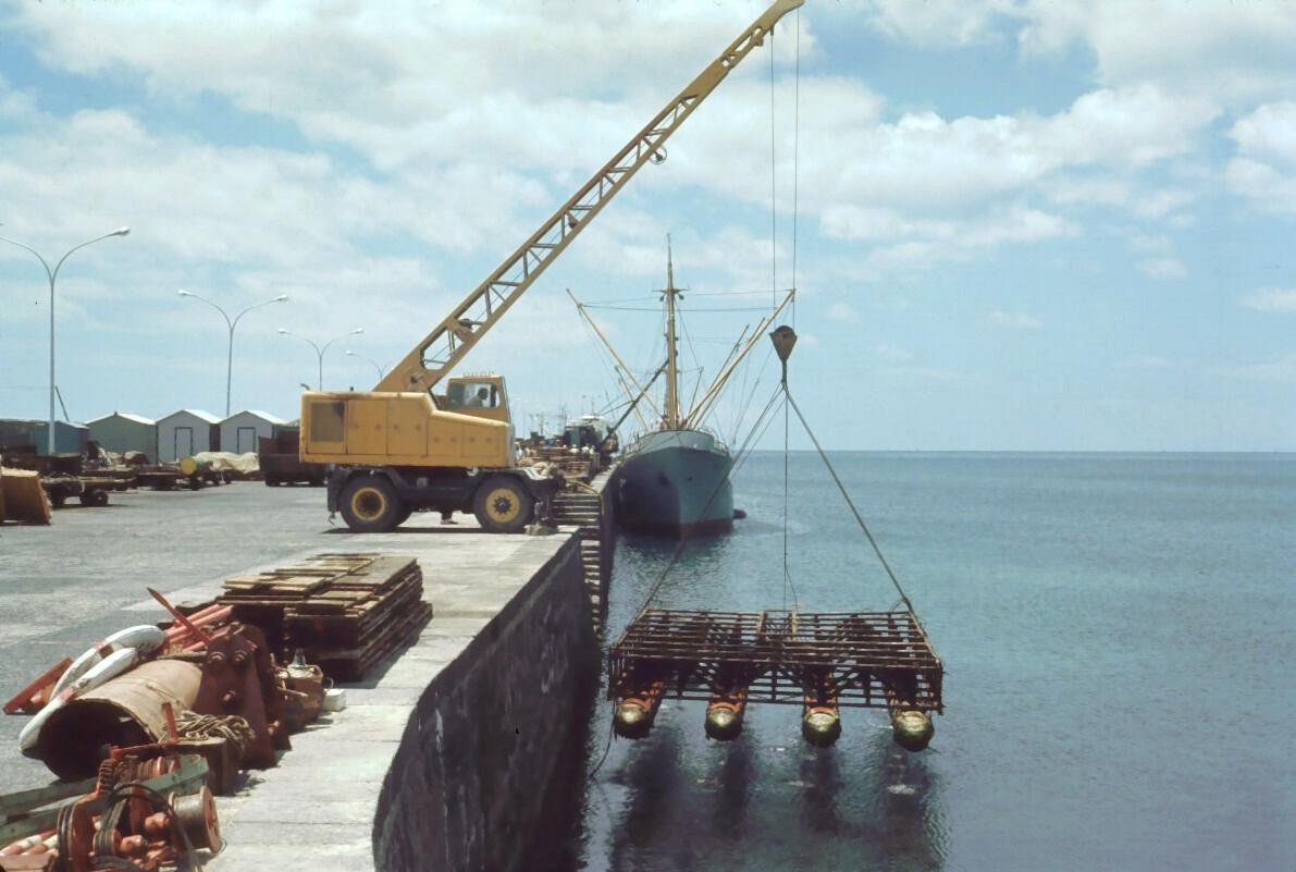Obras en Puerto Naos II