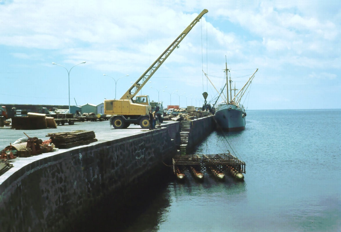 Obras en Puerto Naos