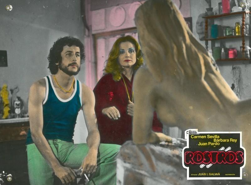 Fotocromo de la película Rostros I
