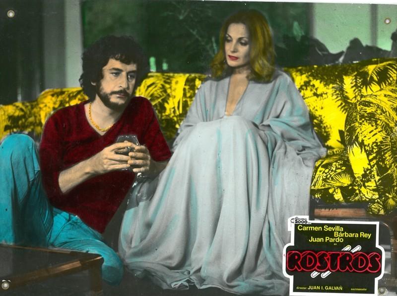 Fotocromo de la película Rostros II
