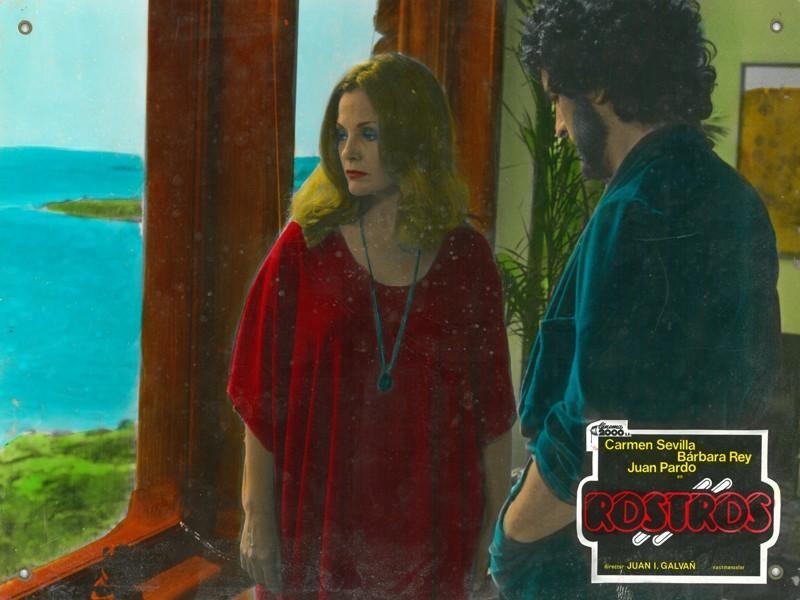 Fotocromo de la película Rostros III