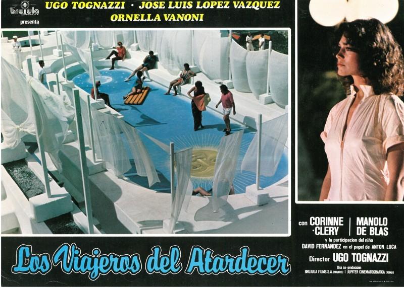 Fotocromo de la película Los viajeros del atardecer I