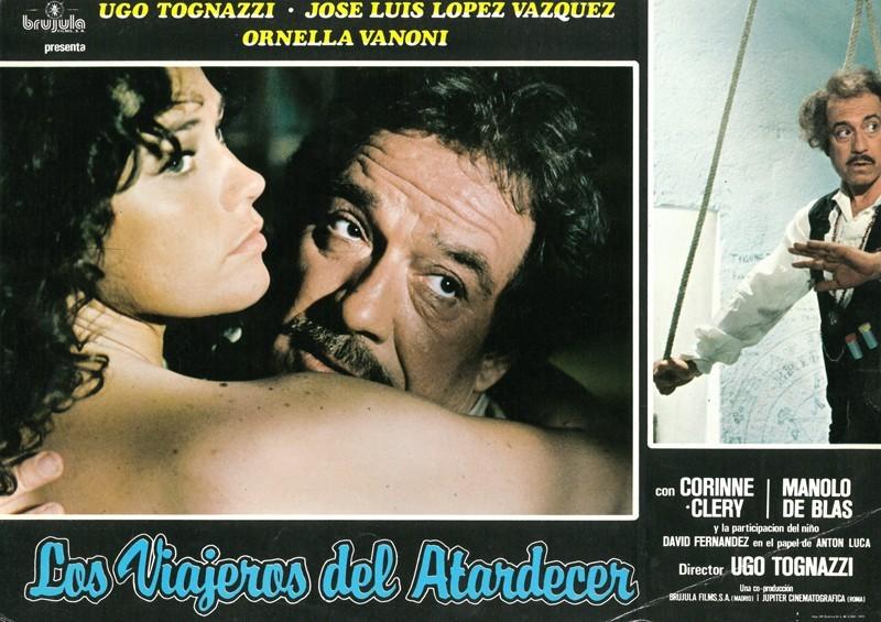 Fotocromo de la película Los viajeros del atardecer II