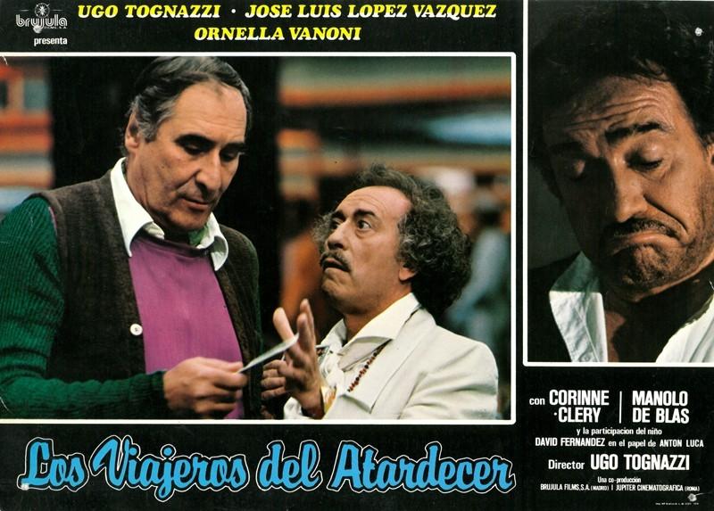 Fotocromo de la película Los viajeros del atardecer III