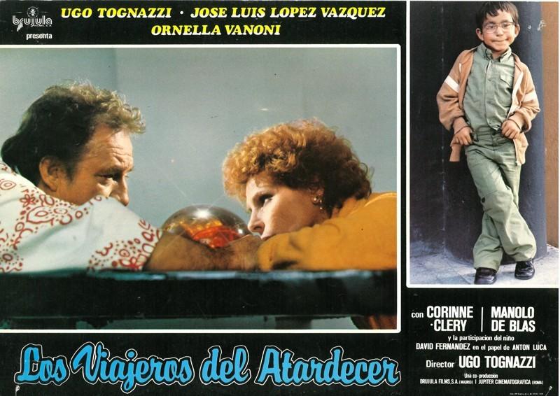 Fotocromo de la película Los viajeros del atardecer IV