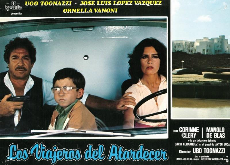 Fotocromo de la película Los viajeros del atardecer V