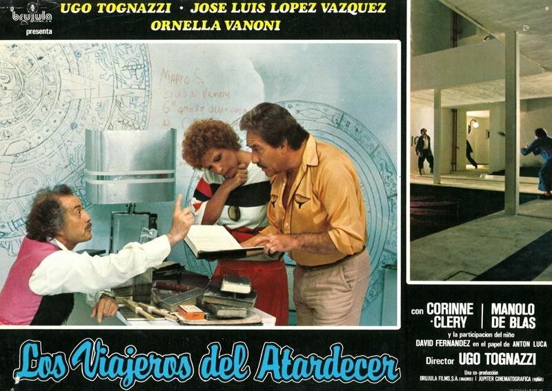 Fotocromo de la película Los viajeros del atardecer VI