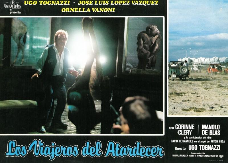 Fotocromo de la película Los viajeros del atardecer VII