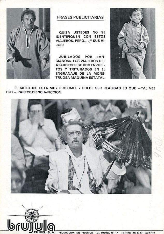 Guía publicitaria de Los viajeros del atardecer IV