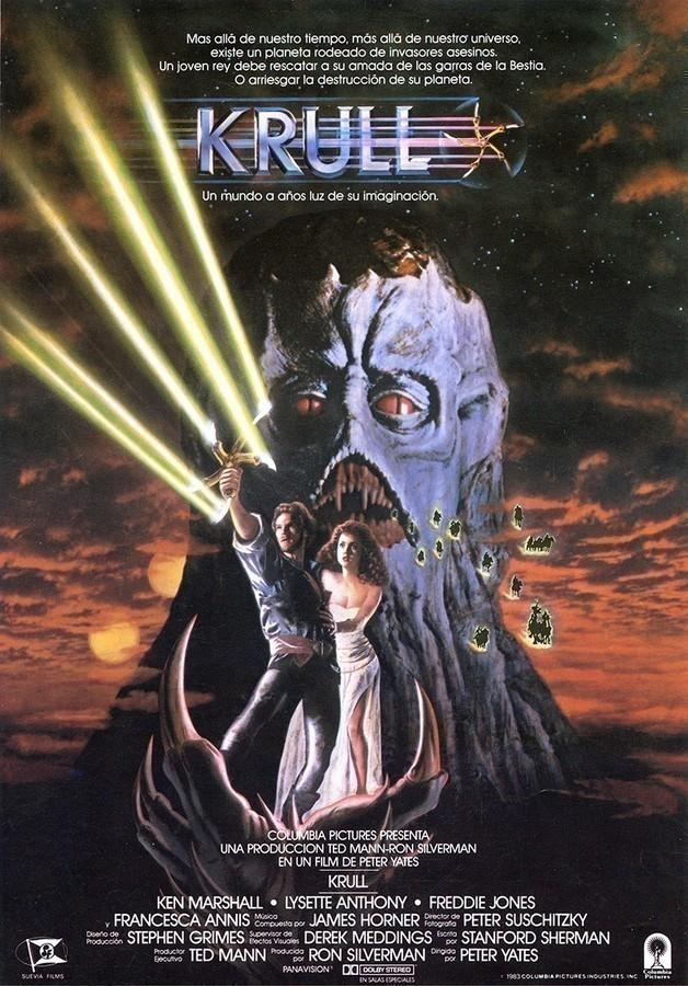 Guía publicitaria de la película Krull I