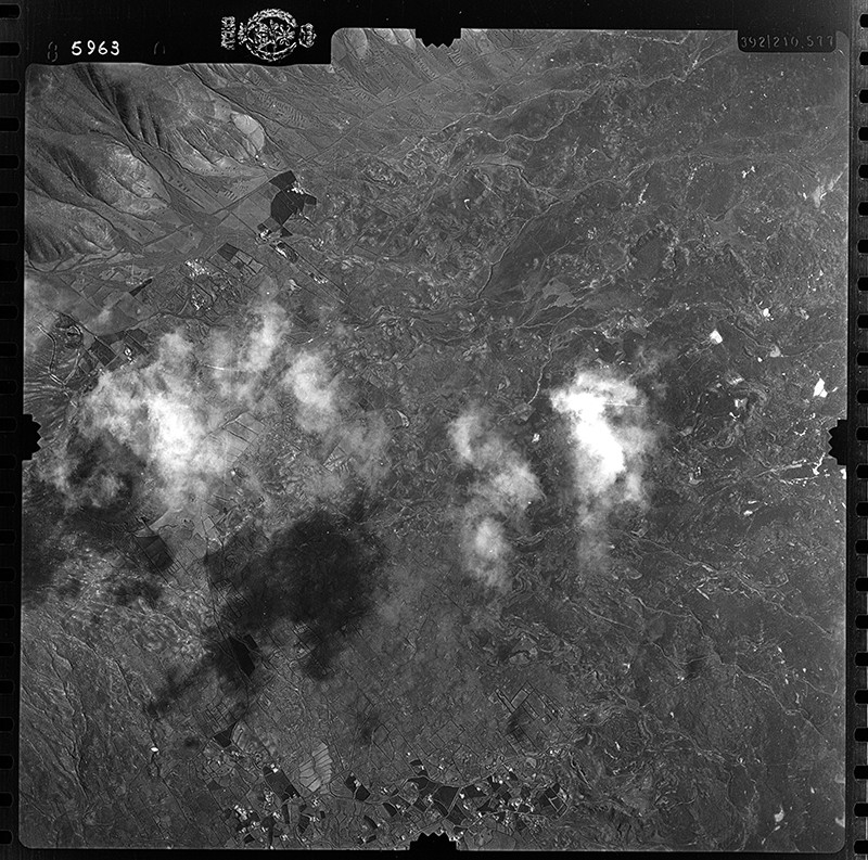 Fotografía aérea de Las Breñas y Maciot en 1954 I