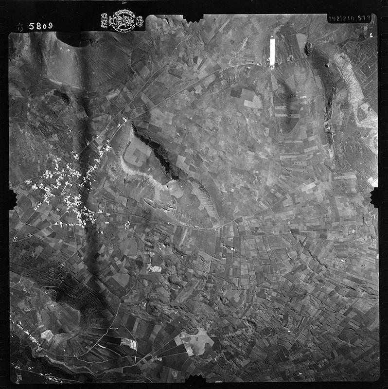 Fotografía aérea de Máguez en 1954 II
