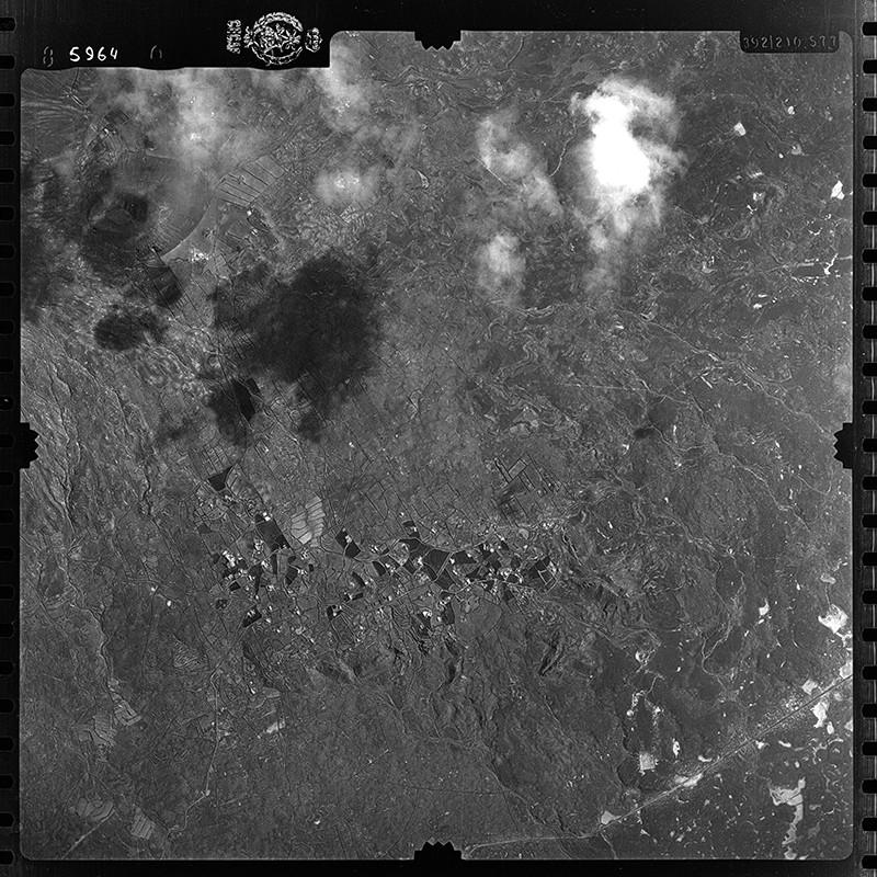 Fotografía aérea de Las Breñas y Maciot en 1954 II
