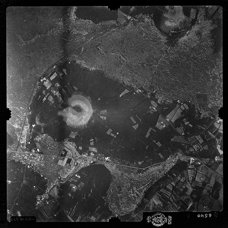 Fotografía aérea de Masdache en 1956