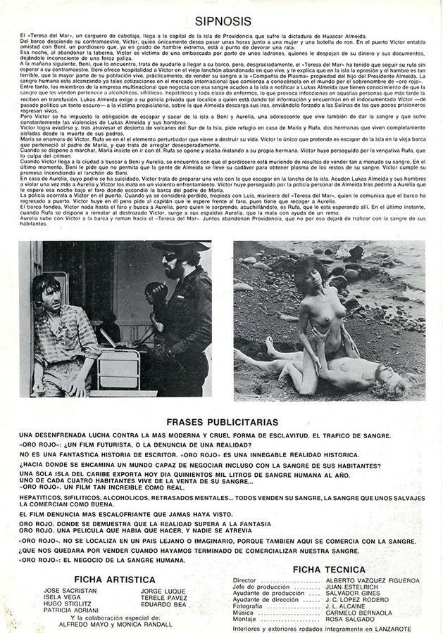 Guía publicitaria de Oro Rojo II