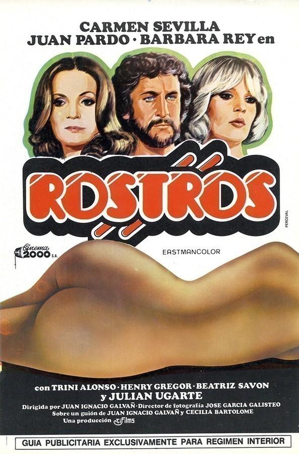 Guía publicitaria de la película Rostros IV