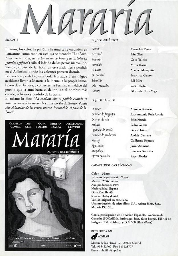 Guía publicitaria de Mararía II