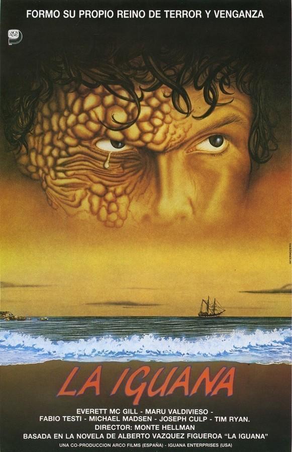 Guía publicitaria de la película La Iguana I