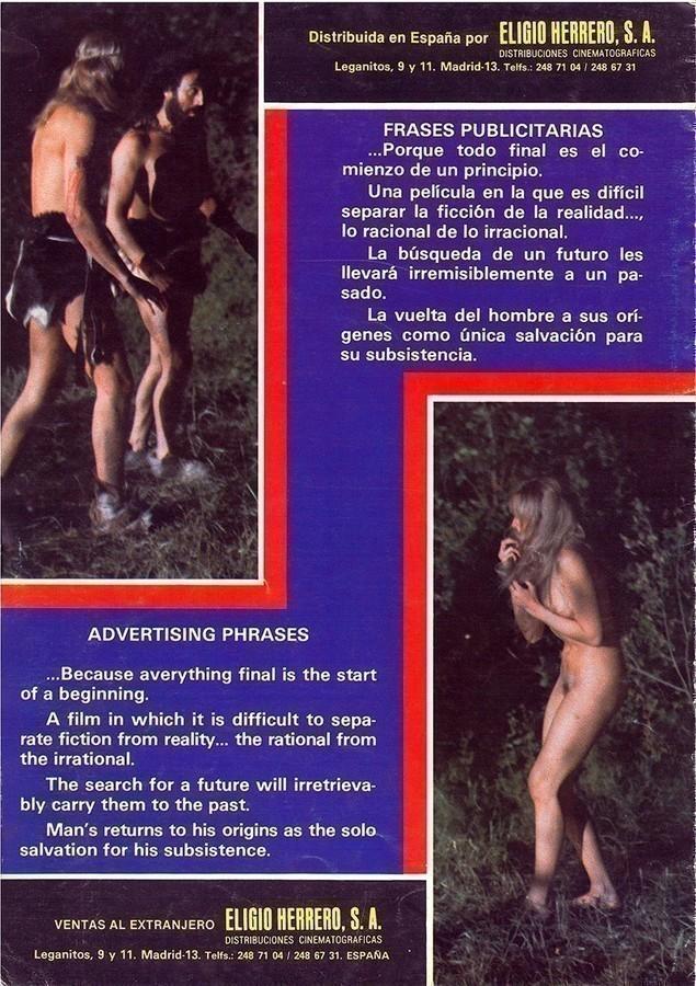 Guía publicitaria de la película Animales racionales VII