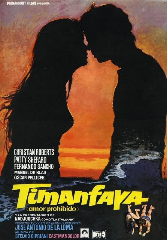 Guía publicitaria de la película Timanfaya I