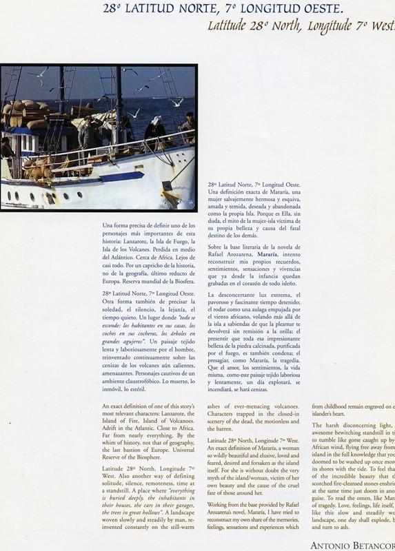 Guía publicitaria doble de Mararía III