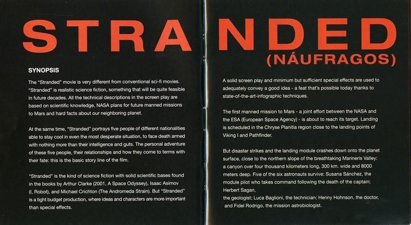 Guía publicitaria de Stranded (Náufragos) IV
