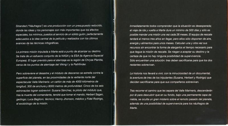 Guía publicitaria de Stranded (Náufragos) VI