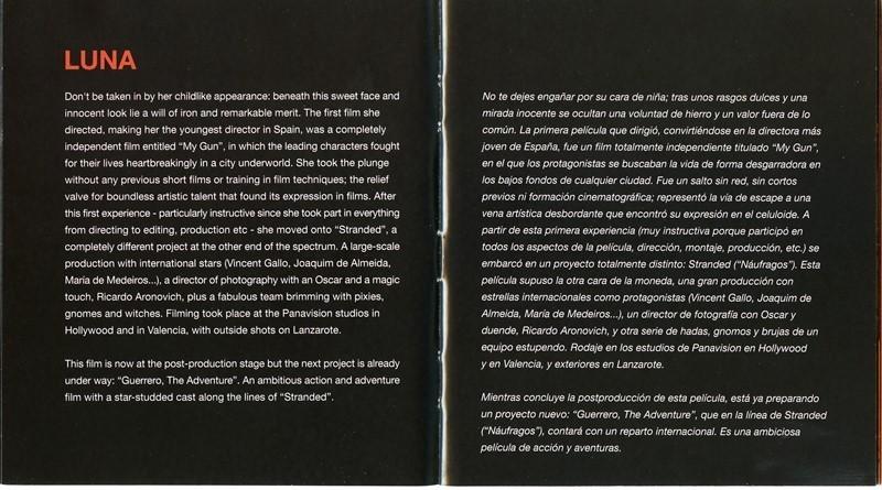 Guía publicitaria de Stranded (Náufragos) VIII